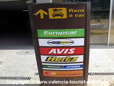 Car hire at Valencia Airport