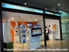 Tourist Information at Valencia Airport