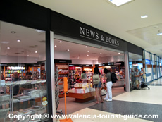 Book Shop at Valencia Airport