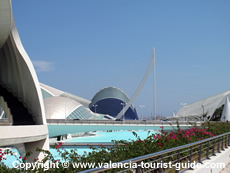 Valencia City of Art and Sciences from a distance