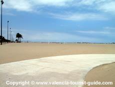 Spiagge di valencia guida alle spiagge della citt di for Spiaggia malvarrosa valencia