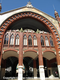 The Mercado Colon - a modernist building in Valencia