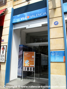 Tourist Information in Valencia city centre