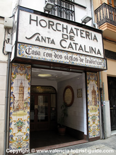 A Valencia Horchateria - serving Valencia's most traditional drink