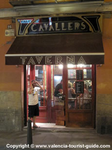 A tapas bar in Valencia's old town - El Carmen