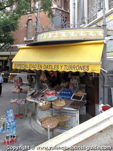 Turron shop in Valencia's old town