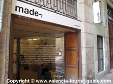 Made Design Shop in Valencia's old town
