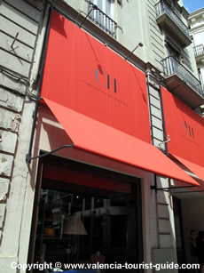 Carolina Herrera store in Valencia old town