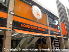 Boulevard Austria Shopping Mall in Valencia