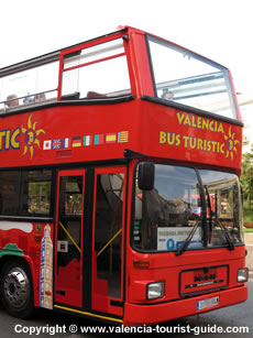 Valencia Tourist Bus