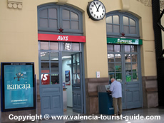 Car hire at Estacio Nord train station in Valencia