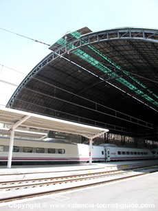 Estacio Nord train station in Valencia